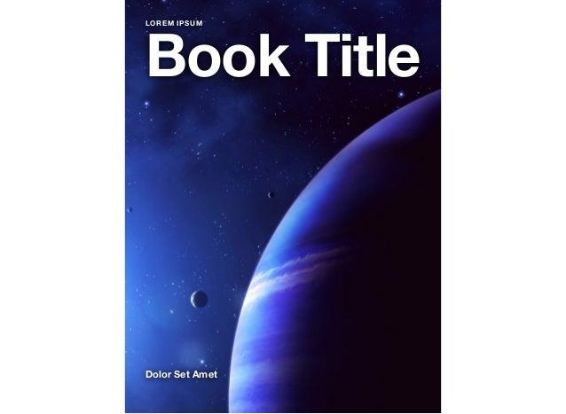 Book TitleDolor Set AmetLOREM IPSUM