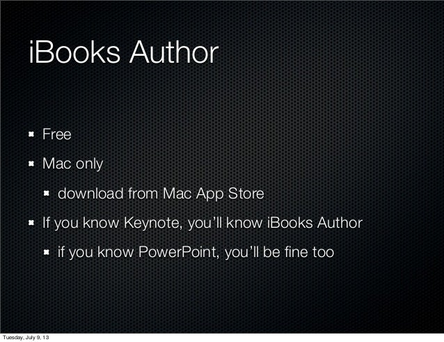 Creating Your eBook with iBooks Author - 070913