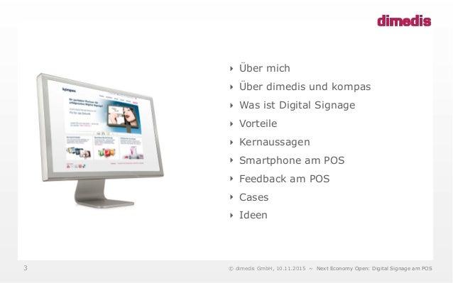 Internet revolutioniert das Plakat – Digital Signage am PoS #NEO15 Session Slide 3