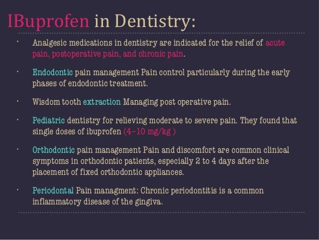 Iboprofen In Dentistry