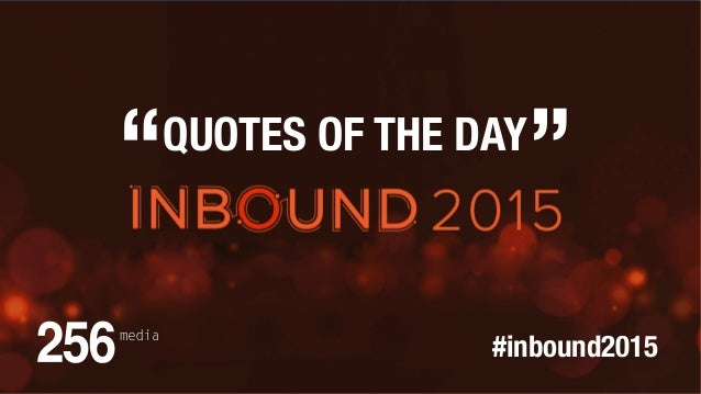 Boston Quotes Beauteous Quotes Of The Day From Inbound 48 Boston