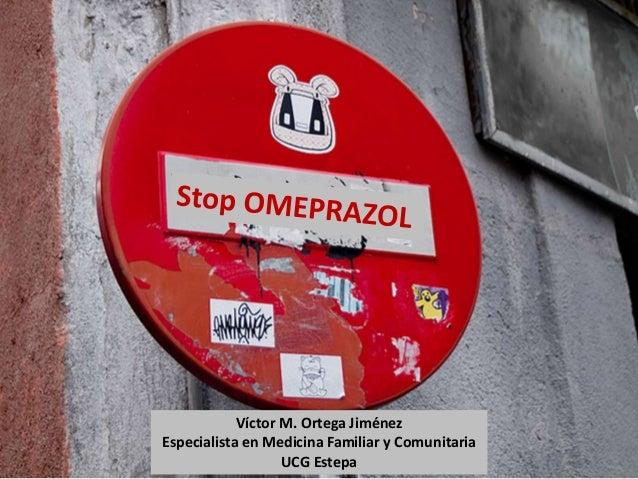 Víctor M. Ortega Jiménez  Especialista en Medicina Familiar y Comunitaria  UCG Estepa