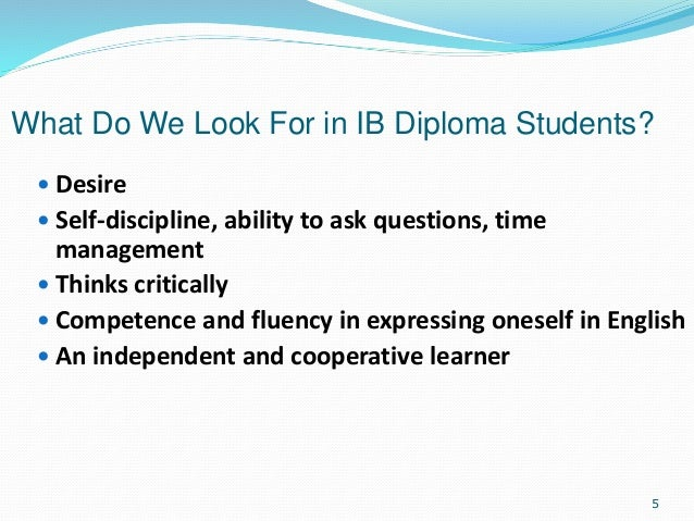 Ib extended essay requirements