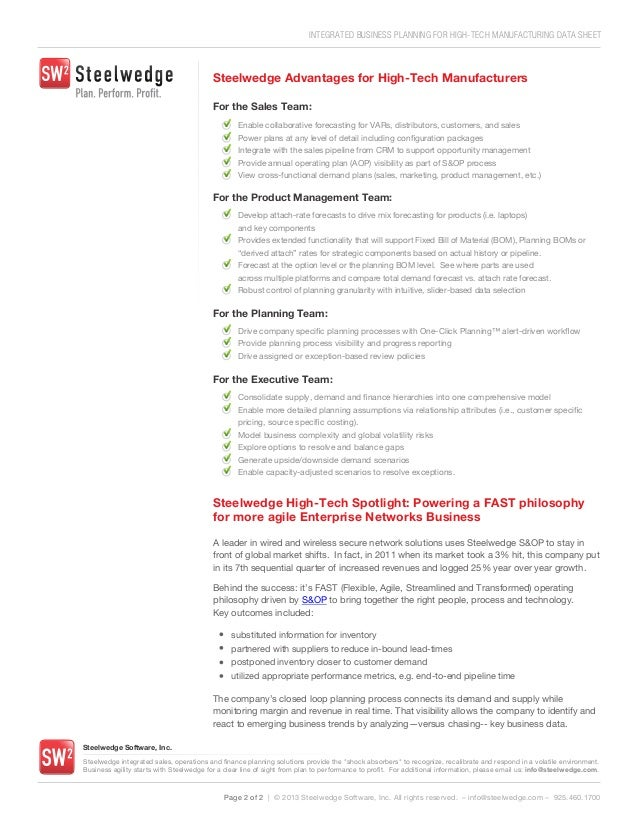 Technology manufacturing business plan resume template for new job
