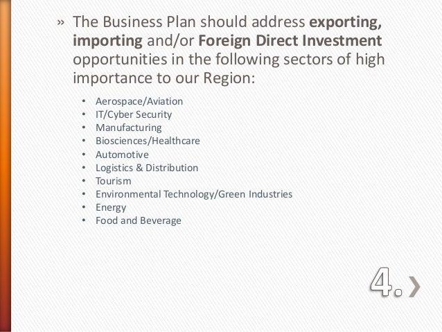 import distribution business plan