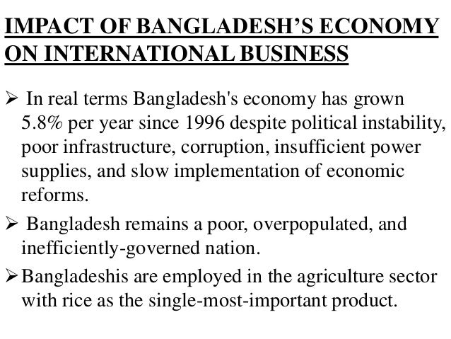 impact in bangladesh's economy after the An interactive and lively discussion looked into the issue of gender based violence (gbv) and its impact on bangladesh's development.