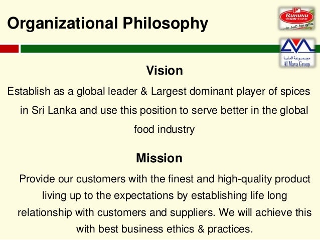 personal philosophy mission and organizational ethics essay Ideally, the vision and mission statement should also be aligned with the values, culture and possibilities of the organization you currently work for if your personal values and aspirations are being matched by your employer's, it will be much easier to progress and fulfill your dreams.