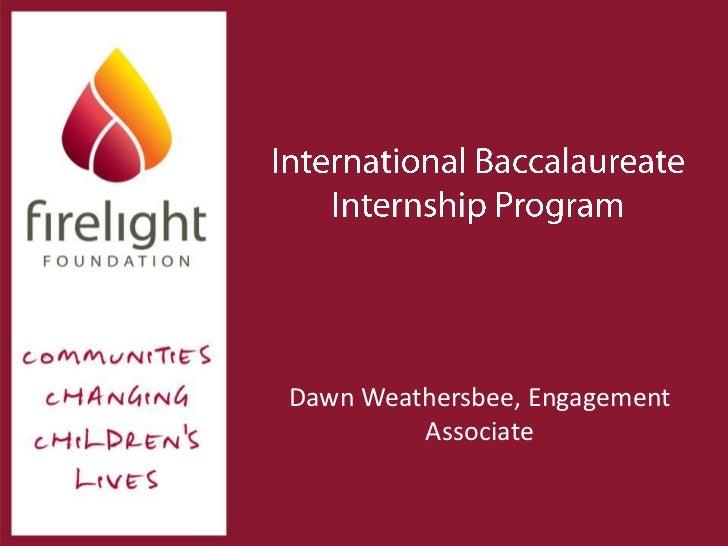 Dawn Weathersbee, Engagement         Associate