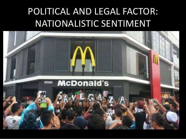 POLITICAL AND LEGAL FACTOR:  SIGNIFICANCE  Rigid and political and legal requirements poses  challenges to firms in severa...