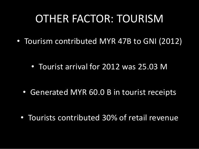 OTHER FACTOR: TOURISM  November - January