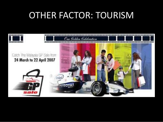 OTHER FACTOR: SIGNIFICANCE OF  TOURISM  • High tourism activities allows firms to make  more profit  • Also promotes compe...