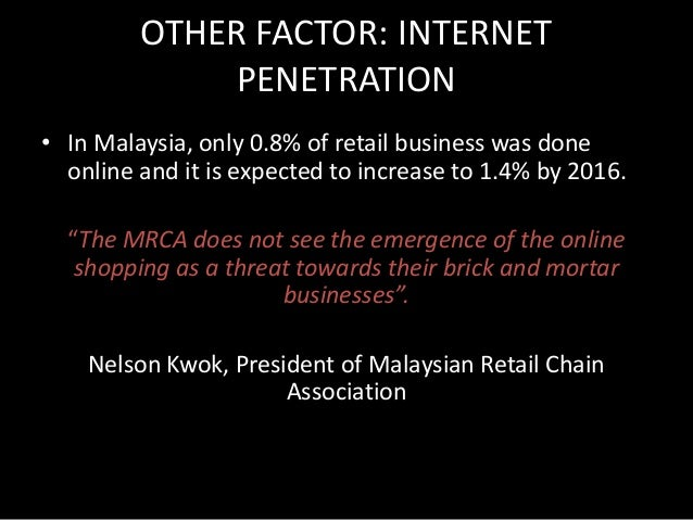 OTHER FACTOR: SIGNIFICANCE OF  HIGH INTERNET PENETRATION  • High internet and mobile penetration, coupled  with young popu...