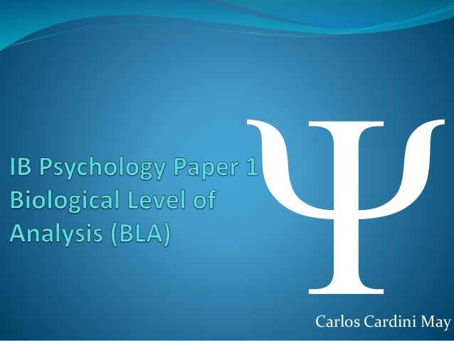 ib psychology bla