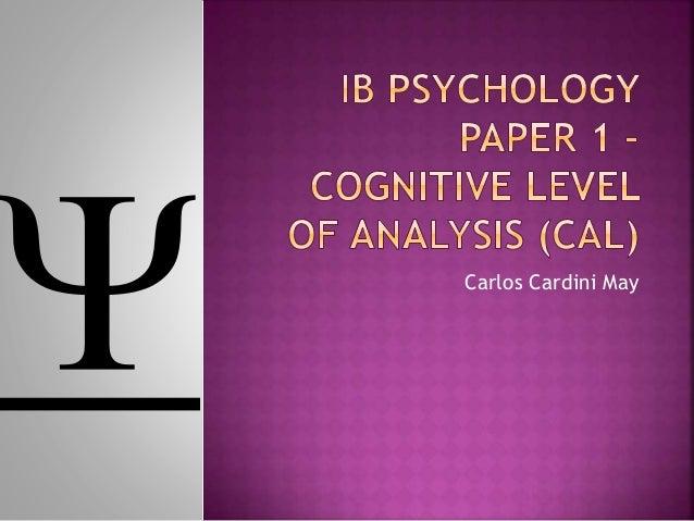 IB Psychology/Options/Developmental psychology/Cognitive Development