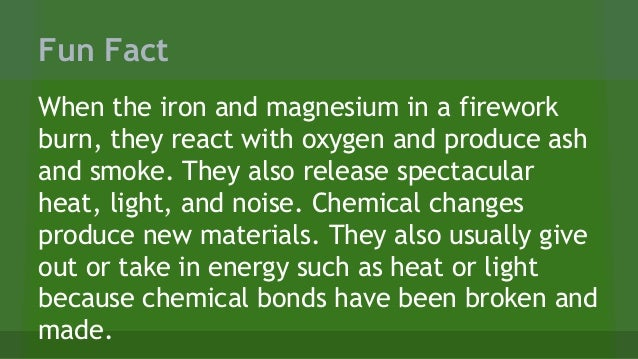 Image result for fun facts about chemical reactions