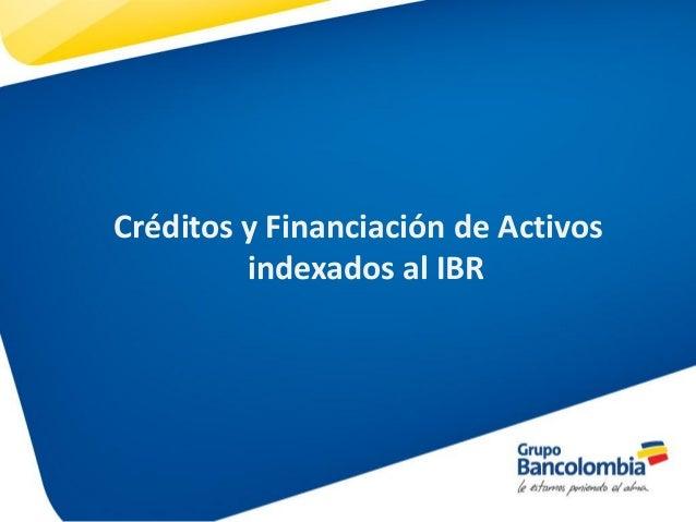 creditos indexados definicion