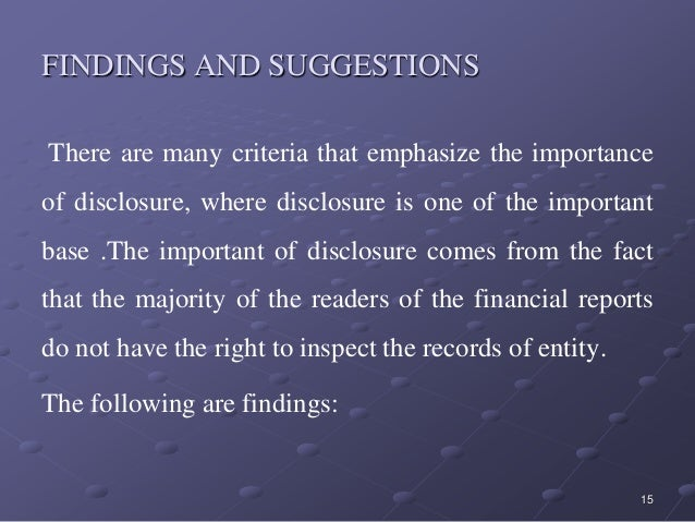 significance of financial reporting Mission the u s securities and exchange commission (sec) has a three-part mission.