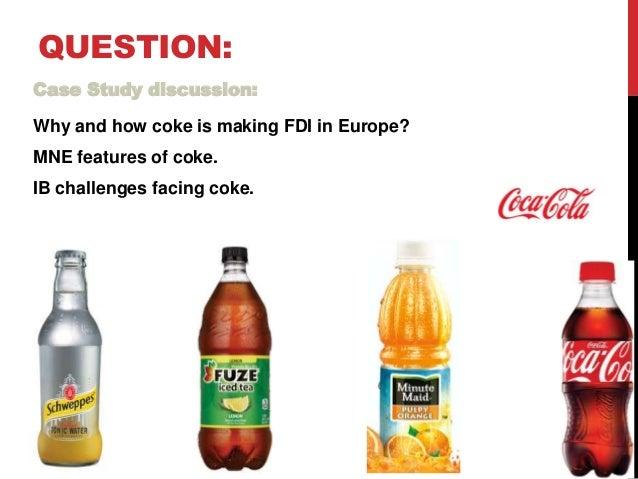 Case coke s european scare