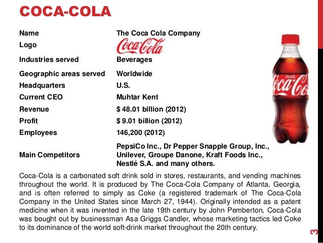 corporate level strategy coke cola case The coca-cola company is a global business that operates on a local scale 31 thoughts on  the coca-cola company's distribution strategy  professional service team to improve the level of customer service terminal.