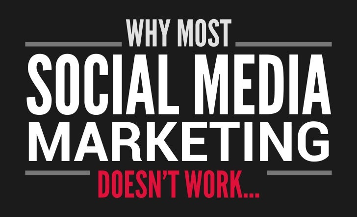 Why most social marketing falls short.