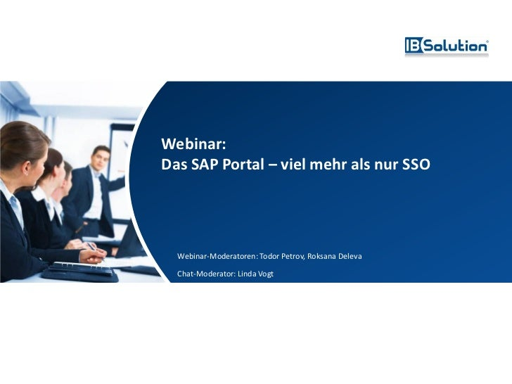 webinar das sap portal. Black Bedroom Furniture Sets. Home Design Ideas