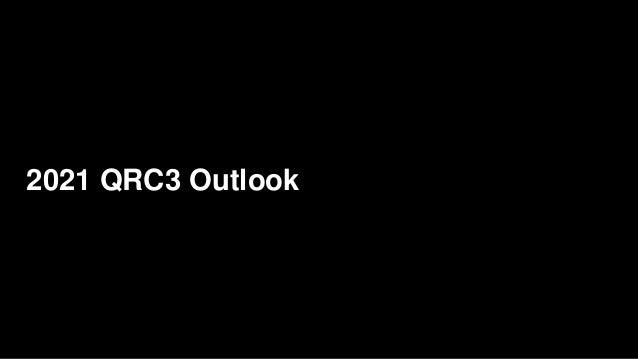 2021 QRC3 Outlook