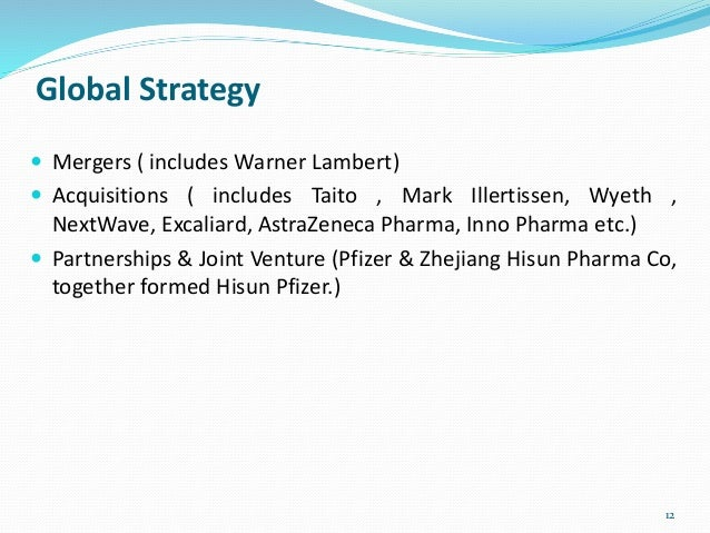 pfizer grand strategy Start studying management test 2 nestlé recently purchased pfizer's as by freezing hiring or tightening expenses is characteristic of the grand strategy.
