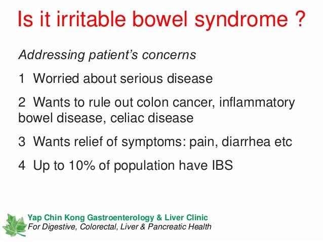 Irritable Bowel Syndrome Interpreting A Diagnosis