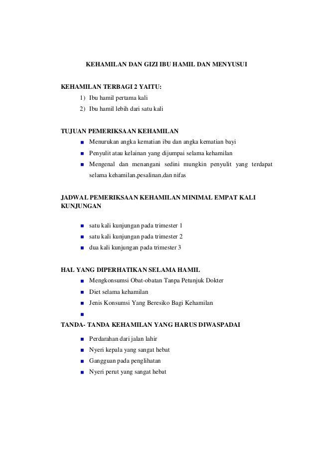 GIZI IBU HAMIL Dgn KOMPLIKASI - WordPress.com