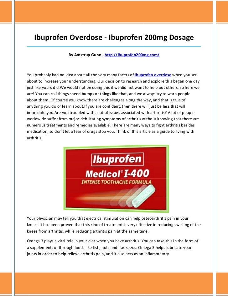 can arthritis take ibuprofen