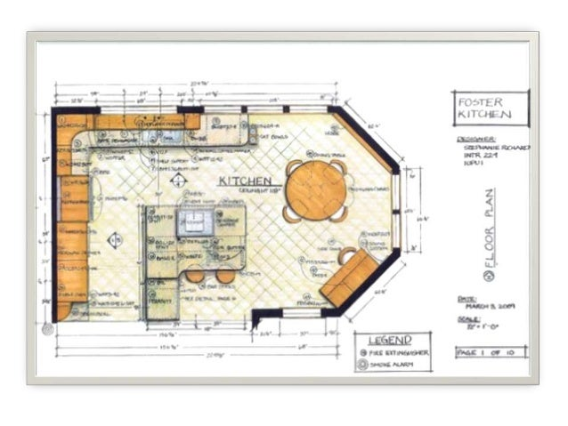 Interior Architecture Drawings