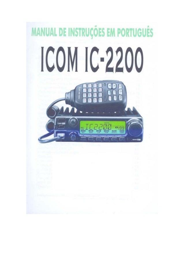 Ic 2200 h - portugues