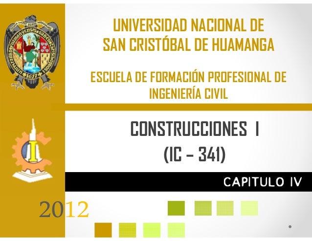 UNIVERSIDAD NACIONAL DE         SAN CRISTÓBAL DE HUAMANGA       ESCUELA DE FORMACIÓN PROFESIONAL DE                  INGEN...