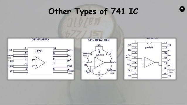 Ic 741 Op Amp