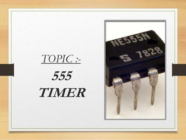 555 timer detailed presentation