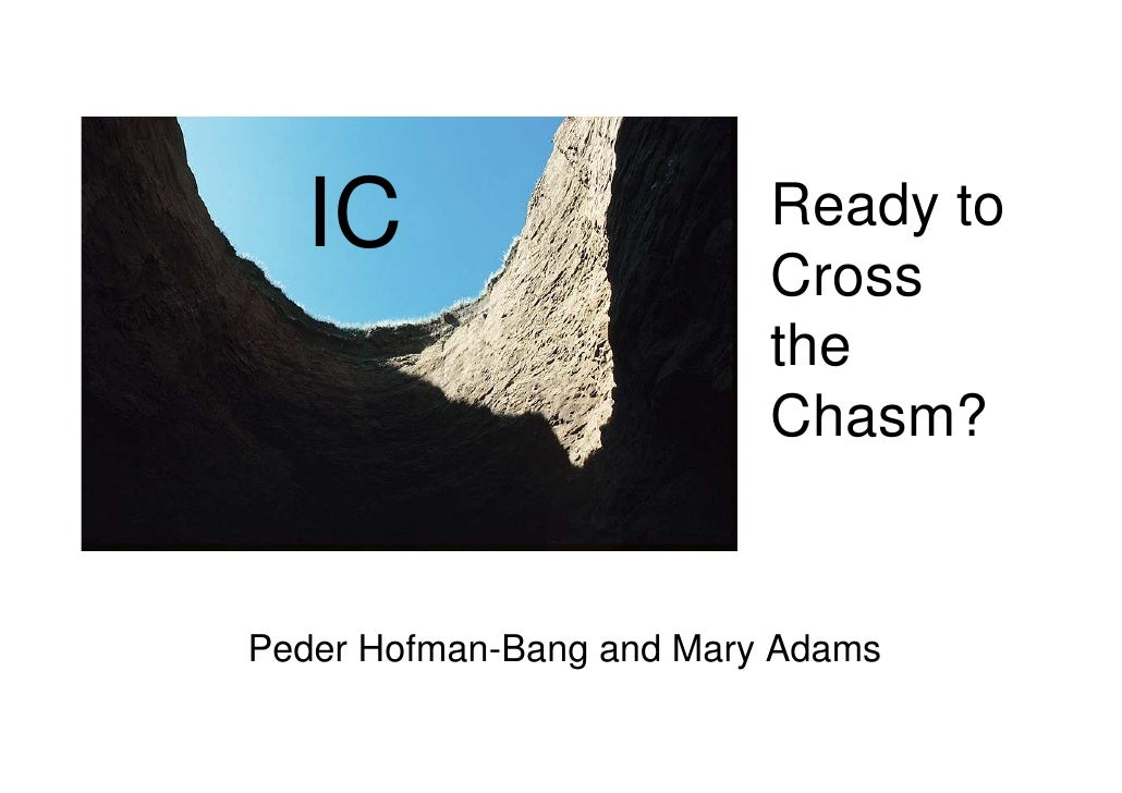 IC                      Ready to                           Cross                           the                           C...
