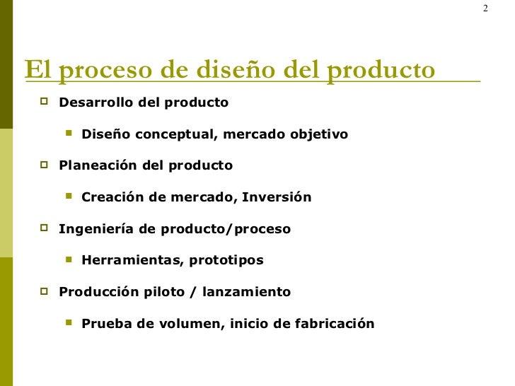 ingeniería concurrente en el diseño de producto y mfg
