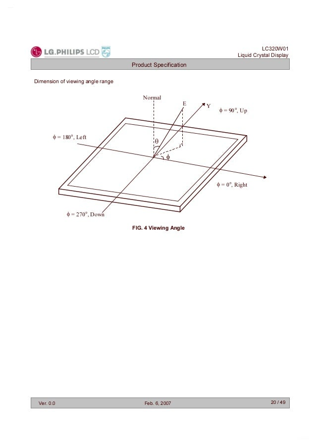 PANEL LCD lc320w01