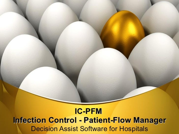 IC-PFM  Infection Control - Patient-Flow Manager Decision Assist Software for Hospitals
