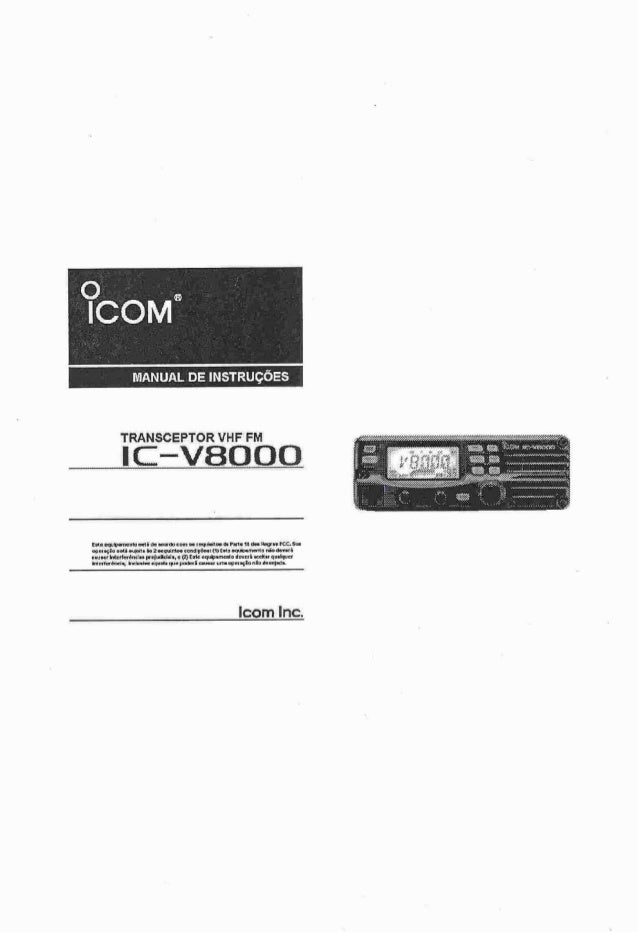 Ic v8000 manual-português