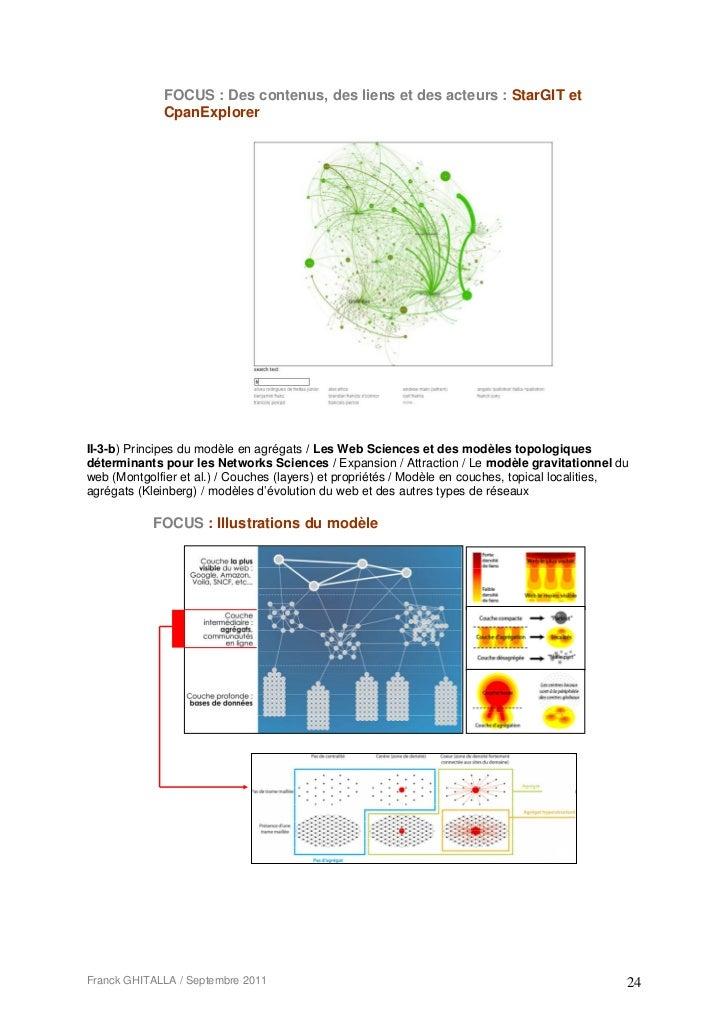 FOCUS : Des contenus, des liens et des acteurs : StarGIT et             CpanExplorerII-3-b) Principes du modèle en agrégat...