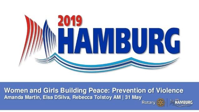 A PAGE FOR BIG BOLDBULLET ITEMS Women and Girls Building Peace: Prevention of Violence Amanda Martin, Elsa DSilva, Rebecca...