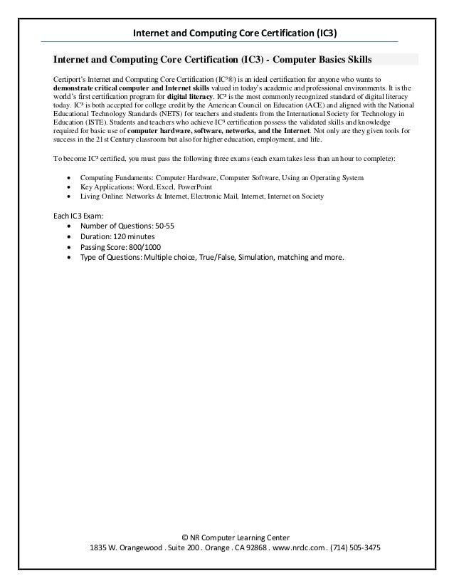 ic3 study guide rh slideshare net Nursing Study Guide PDF Final Exam Study Guide Template