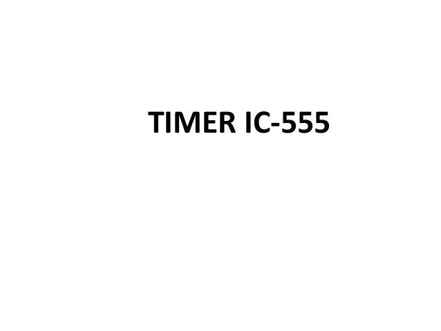 TIMER IC-555