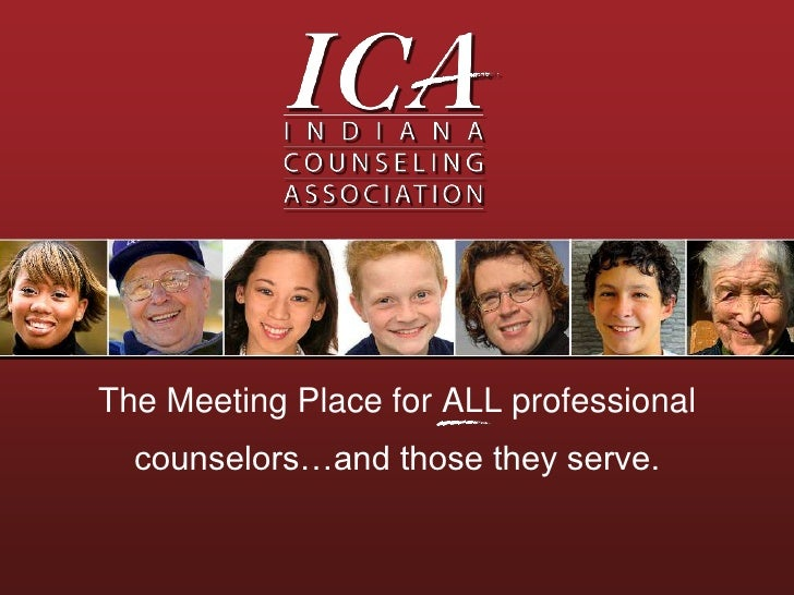 The Meeting Place for ALL professional counselors…and those they serve.