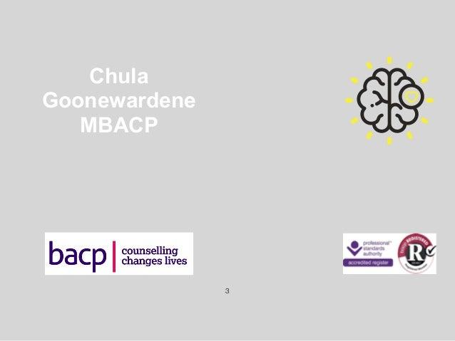 Chula Goonewardene MBACP !3