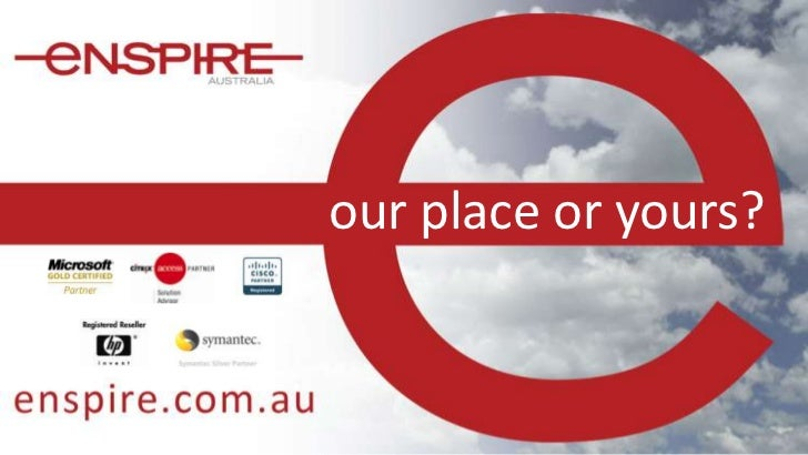 our place or yours?<br />