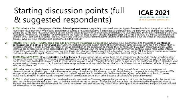 Games for triggering collective change in natural resource management Slide 3