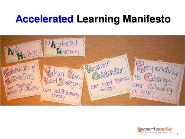 Accelerated Learning Manifesto 9