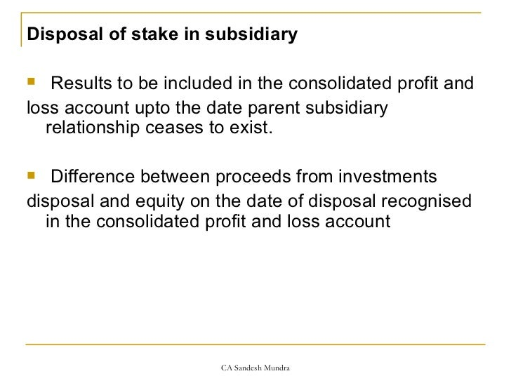 consolidation of accounts Comparative international standards and higgghlights • ias 27 consolidated financial statements • snapshot - key objective: • to provide for preparation and presentation of consolidated financial statements in the books of a.